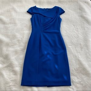 Royal Blue Tahari suit dress size 2
